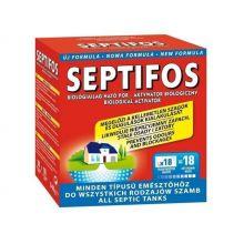 Aktywator do szamb Septifos Vigor - 6 saszetek - usuwa przykre zapachy i zatory