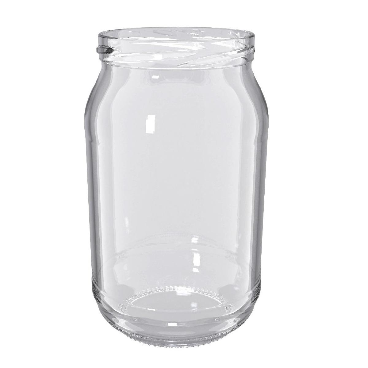 S³oje zakrêcane szklane, s³oiki - fi 82 - 900 ml - 8 szt.