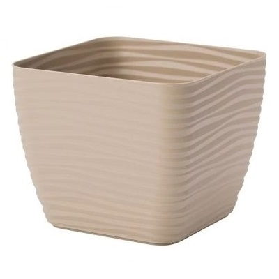 Os³onka kwadratowa Sahara petit - 17 cm - cafe latte
