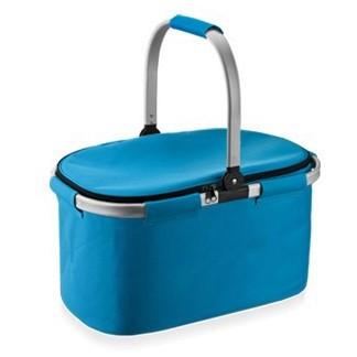 Koszyk termiczny sk³adany - COOLBAG - niebieski