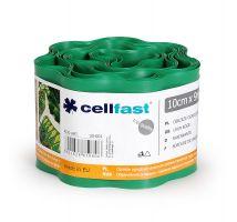 Obrzeże trawnikowe zielone - 10cm, 9m - CELLFAST