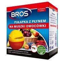 Pułapka z płynem na muszki owocówki - Bros