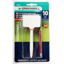 Etykiety do oznaczania roślin 13 cm - 10 szt. z ołówkiem