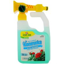 Nawóz do róż i innych roślin kwitnących - gotowa do użycia konewka - Zielony Dom - 950 ml