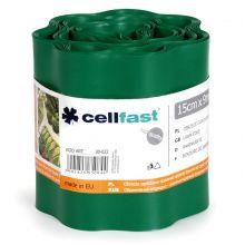 Obrzeże trawnikowe ciemnozielone - 15cm, 9m - CELLFAST
