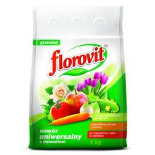 Nawóz uniwersalny z dolomitem - prawidłowy wzrost i rozwój - Florovit - 1 kg