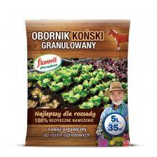 Obornik koński granulowany - 100% ekologiczny - Florovit - 5 litrów