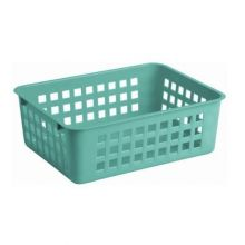 Koszyk do przechowywania - 25 x 17 cm - niebieski