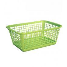 Koszyk do przechowywania - 35 x 26 cm - zielony