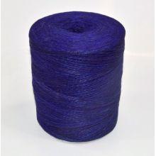 Sznurek jutowy - TEX 600/2 - niebieski - 250 g