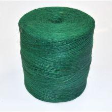 Sznurek jutowy - TEX 600/2 - zielony - 500 g