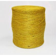 Sznurek jutowy - TEX 600/2 - żółty - 250 g
