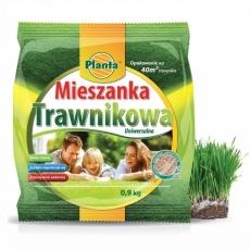 Mieszanka trawnikowa - najbardziej uniwersalna mieszanka traw - Planta - 0,9 kg