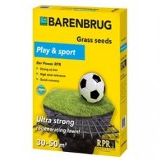 Play & Sport - ultramocny, samoregenerujący i samozagęszczający się trawnik - 1 kg