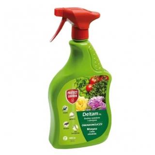Deltam AL (dawniej Bayer Decis) - gotowy do użycia na mszyce, gąsienice i chrząszcze - 1000 ml