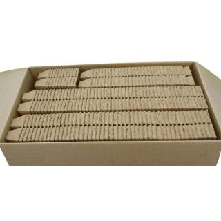 Doniczki torfowe kwadratowe 6x6 cm - 12 sztuk