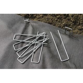 Szpilki do mocowania włóknin, foli i plandek do gruntu