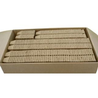 Doniczki torfowe kwadratowe 6x6 cm - 60 sztuk