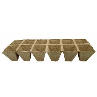 Doniczki torfowe kwadratowe 5x5 cm - 120 sztuk
