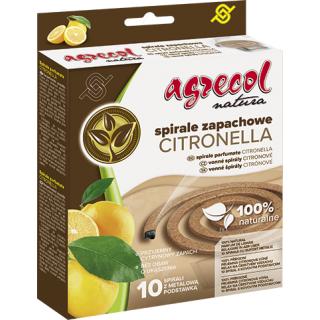Spirale na komary i inne owady latające - Citronella - 10 szt.