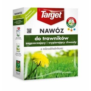 Nawóz do trawników zagęszczający i wypierający chwasty - Target - 1 kg