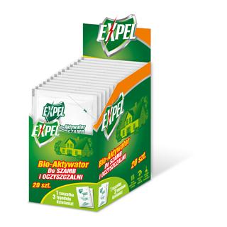 Bio-Aktywator do szamb i oczyszczalni - EXPEL - 25 g