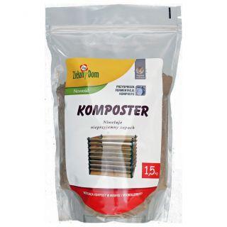 Komposter - wzbogaca kompost i niweluje nieprzyjemny zapach - 1,5 kg