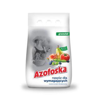 Azofoska granulowana - kompleksowe nawożenie - 5 kg