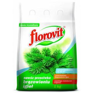 Nawóz do iglaków przeciwko brązowieniu igieł - Florovit - 1 kg