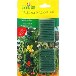 Pałeczki nawozowe uniwersalne dla roślin doniczkowych - Zielony Dom - 30 sztuk