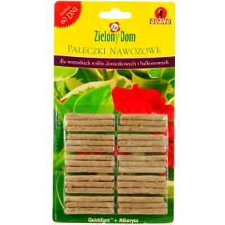 Pałeczki nawozowe QuickStart + mikoryza - działają szybko i bardzo długo - Zielony Dom - 30 sztuk