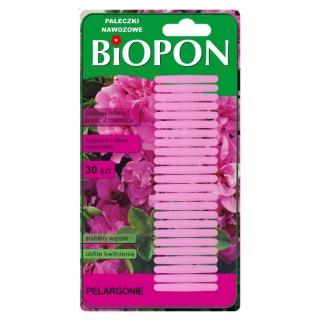 Pałeczki nawozowe do pelargonii - stabilny wzrost i obfite kwitnienie - 30 szt.