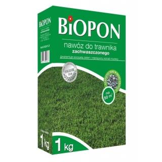 Nawóz do trawników zachwaszczonych - Biopon - 3 kg