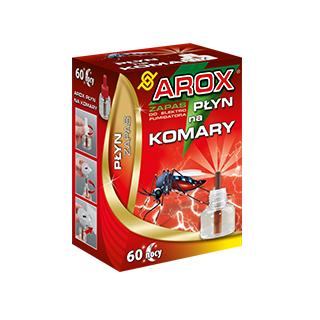 Płyn zapasowy do elektrofumigatora na komary - 60 nocy - Arox - 45 ml