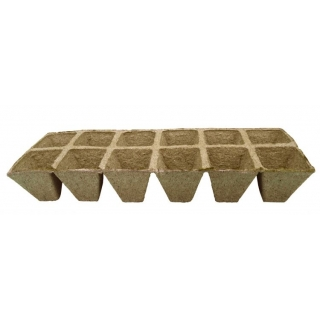 Doniczki torfowe kwadratowe 5x5 cm - 300 sztuk
