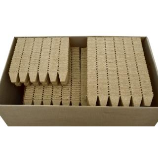 Doniczki torfowe kwadratowe 5x5 cm - 12 sztuk