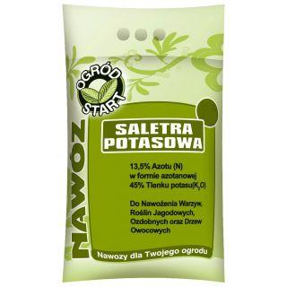 Saletra potasowa - nawóz azotowo-potasowy do ogrodu - 2 kg