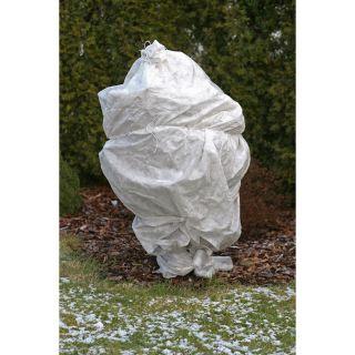 Agrowłóknina zimowa - biała - chroni rośliny przed mrozem - 1,60 x 5,00 m