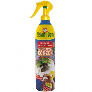 Spray do przesadzania roślin - Zdrowy korzeń - Zielony Dom - 300 ml