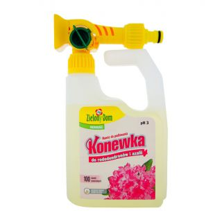 Nawóz do rododendronów i azalii - gotowa do użycia konewka - Zielony Dom - 950 ml