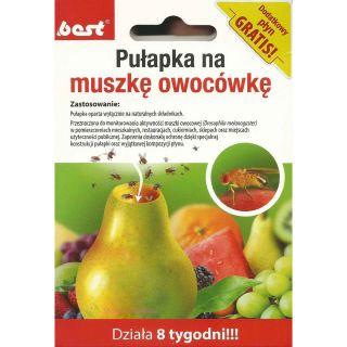 Pułapka na muszki owocówki - działa przez 8 tygodni - Best