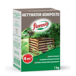 Aktywator kompostu - przyśpiesza i użyźnia - Florovit - 1 kg
