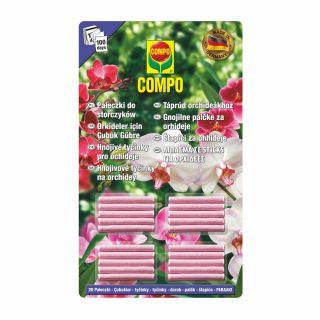 Pałeczki nawozowe do orchidei, działają 100 dni - Compo - 20 szt.