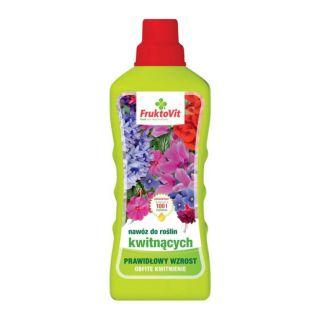 Nawóz mineralny do roślin kwitnących - Fruktovit - 1 litr