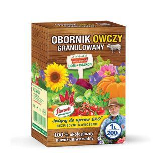 Obornik owczy granulowany - 100% ekologiczny - Florovit - 1 litr