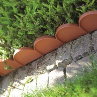 Obrzeże trawnikowe - krawężnik trawnikowy - Garden Line - 10 m - terakota