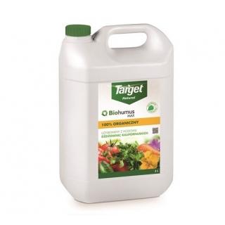 Biohumus MAX-HUMVIT - 100% ekologiczny nawóz - Target - 5 litrów