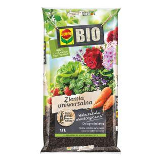 BIO Podłoże uniwersalne do wszelkich roślin w domu i ogrodzie - Compo - 15 litrów