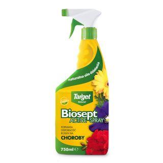 Biosept Activ Spray - zwiększa odporność roślin na choroby - Target - 750 ml