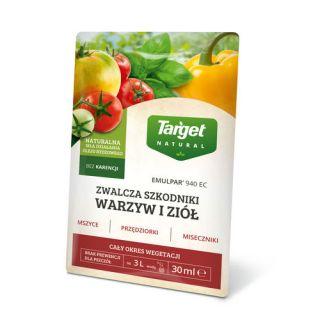 Emulpar 940 EC do warzyw - oprysk na większość popularnych szkodników - Target - 30 ml